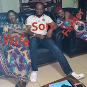 Pete Edochie Is 74 Years Old Today, See Photos Of His Wife And Son Who Is Also An Actor