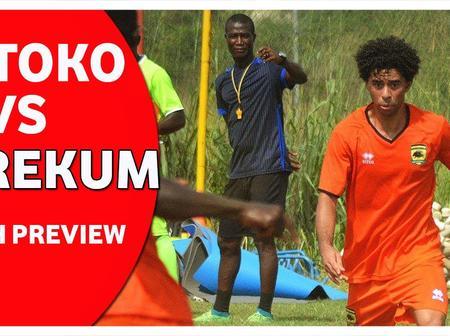 Kumasi Asante Kotoko has a chance to settle old scores against giant killers Berekum Chelsea.