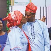 Two Times RCCG Pastor Adeboye Kissed His Wife In The Public.