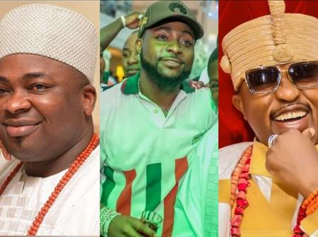 More Photos Of Davido, Ooni Of Ife, Oluwo And Other Celebrities At The 45th Birthday Of Oba Elegushi