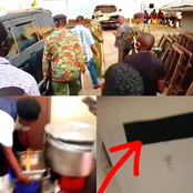 PHOTOS: Police Find Plenty Of Sufurias And A Hole In Echesa's House But Leave Empty Handed
