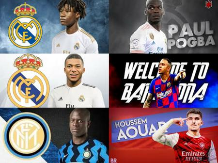 TRANSFER: Kante To Inter, Chelsea Eye Rice Alternative, Real Madrid Set To Sign 3 Players & Others