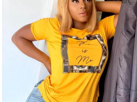 Actress Lucy, Destiny Etiko And Regina Shared Classic Photos In Same Stylish Color