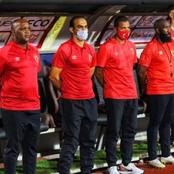 Sad news as Pitso finds himself in a hectic and challenging situation at Egypt with Al Ahly