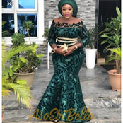 Stylish Owambe Aso Ebi Native Styles For Married And Single Ladies.