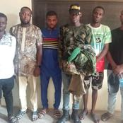 6 Fake Military Men Arrested In Asaba