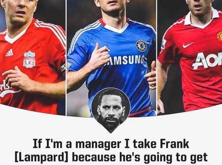 Man Utd legend picks Lampard over Steven Gerrard and Paul Scholes