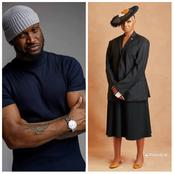 See What Peter Okoye Said After Nancy Isime Appeared With An Unusual Outfit In New Picture