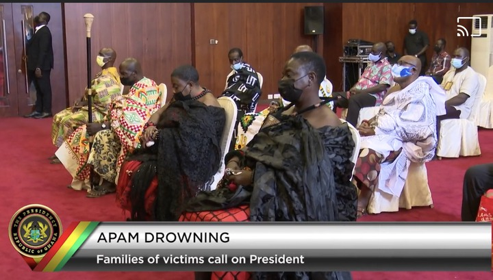 e22b9e5e304741ef93ad5c2b0f5dc4a4?quality=uhq&resize=720 - Apam Drowning Incident: Families Of Victims Meet Akufo-Addo Face-To-Face; Scenes From Jubilee House