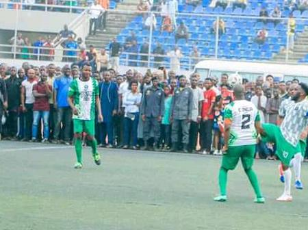 JJ Okocha Proved Himself As The King Of Football Once Again Yesterday, Check Out What He Did