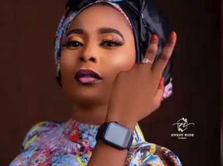 Stunning Pictures Of Hauwa Ayawa, The Upcoming Hausa Actress.