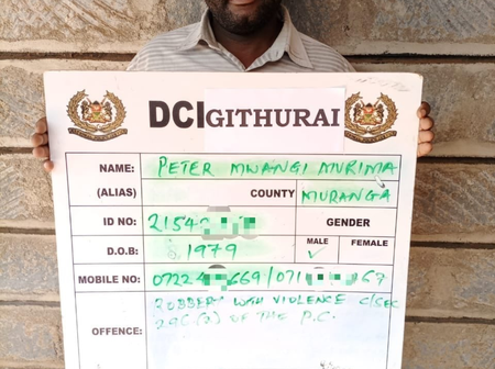 These are The Five Criminal Gang Caught by The DCI For Terrorizing Tax Operators