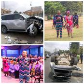 Good News As The Pastor Of Full Life, Rev. Ntia And His Wife Were Unscratched After An Accident