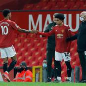 Reactions as Nigeria-born winger breaks another record at Man Utd