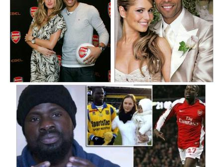 Meet the 3 former Arsenal players who went through difficult divorces (See Photos)