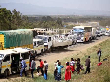 Man In Nyamira County Surrenders Self To The Police After Attempts To kill His Two Sons Failed