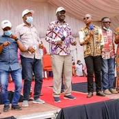 Politicians Who Accompanied Raila For The Coastal Campaigns