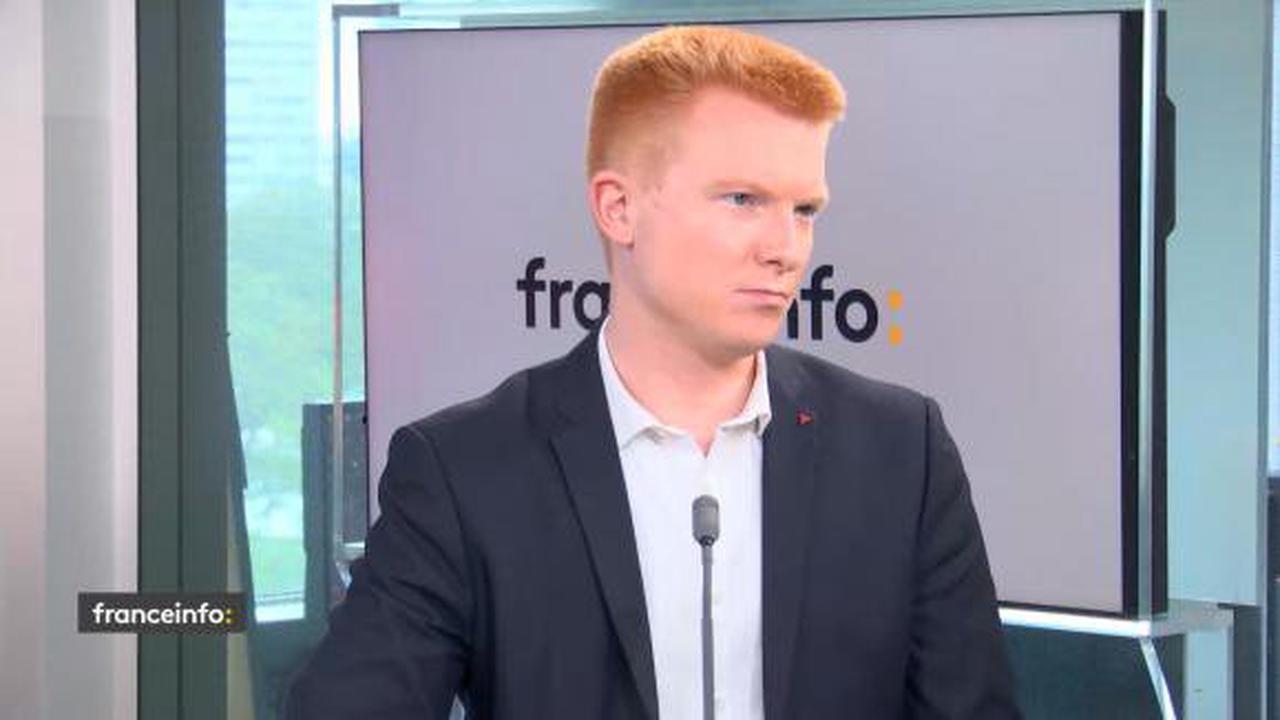 """Manifestation de policiers : """"C'est une opération d'instrumentalisation politique et de pression sur la justice"""", dénonce Adrien Quatennens"""