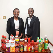 A Rare Photo Of Rachel Ruto With Vesha Akello