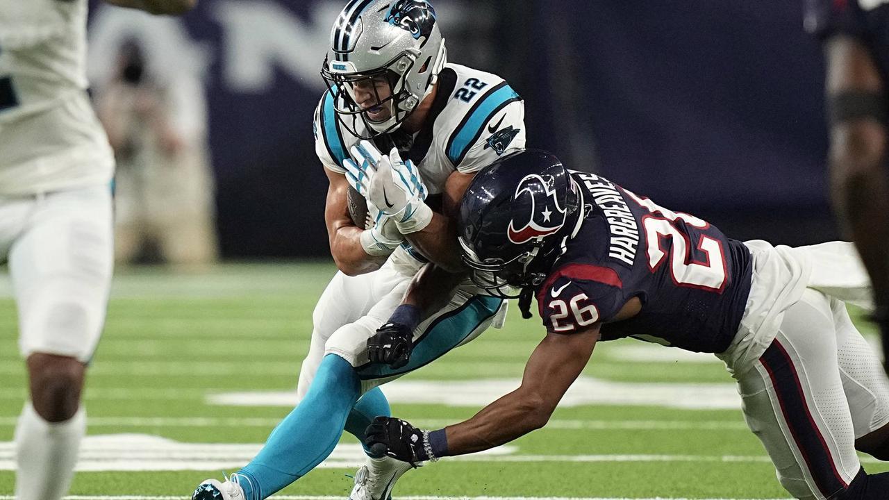 McCaffrey verletzt sich beim dritten Sieg der Carolina Panthers