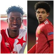 Olayinka Assists Slavia Prague, Shoretire Becomes Youngest Player Ever To Play For Man U In Europe