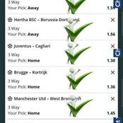 Best Four Expert 99% Football Tips for Today.