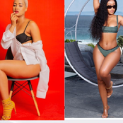 Must see images: Maditshidiso and Marang serving us with body summer body.