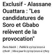 L'exclusif entretien du président Alassane Ouattara dans Paris Match