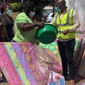 Photos: Mike Sonko Team Donates To The Needy Donholm Residents