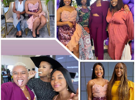 Stunning Pictures Of Erica and Some  Nollywood Stars At An Event Surfaces