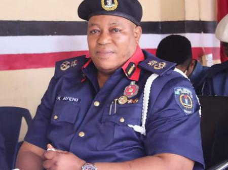 Good Friday Celebration: NSCDC Commandant Ayeni PK Felicitates With Christians