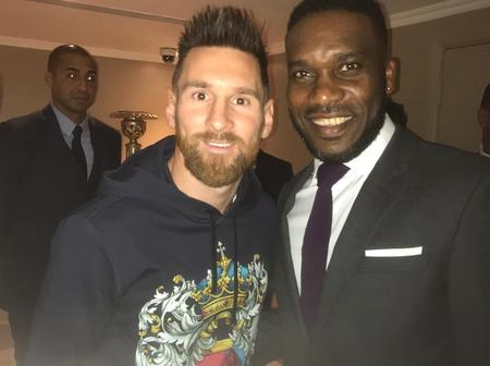 UEFA celebrates six Super Eagles Legends for their outstanding performance in UCL (Photos)