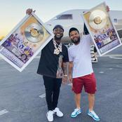 "Davido Recieves Plaque For His 1 Billion ""A Good Time"" Album Streams. See Fans Reactions"