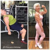 Viral 74 Year Old Wellness Darling Resists Maturing.