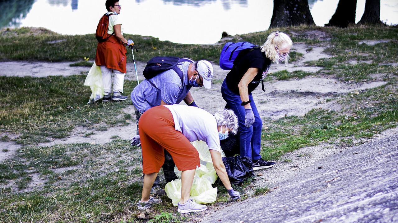 """Camaret-sur-Aigues. """"World clean up day"""", une matinée pour nettoyer les abords d'Aygues"""