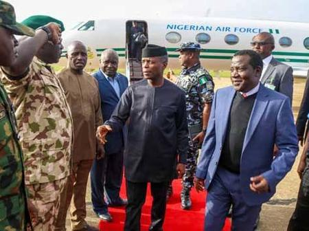 Vice President Of Nigeria Storms Imo State Today, Check Out What He Is Coming To Do