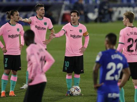 Barca And Real Madrid Crash To Surprise Defeats, A Sign That La Liga Teams Are Out For Blood.