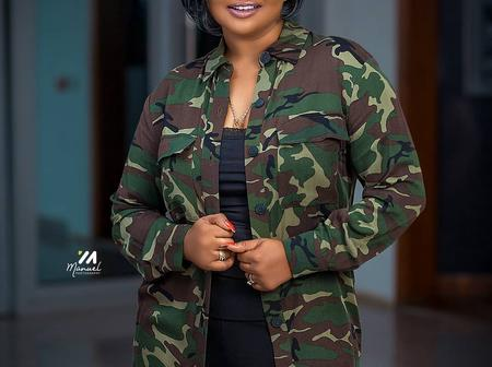 Mind blowing Pictures of Nana Ama Mc Brown looking Young and splendid