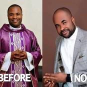 3 Years After He Left Catholic Priesthood To Get Married, See Reverend Henry Edet Recent Pictures