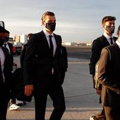 Photos: Real Madrid Stars depart for Ukraine ahead of Champions tie against Shakhtar Donetsk