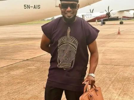 AY Makun Arrives Asaba, Read What He Said After His Arrival That Got Annie Idibia & Nino B To React