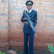 Young Police Officer Dies In a Road accident