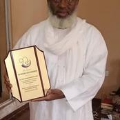 Women Of Praise And Charity Organization (WPCO) Presented An Award Of Appreciation To Dr. Ahmad Gumi