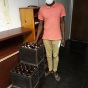 Police confiscate alcohol in crime ridden Cosmo City