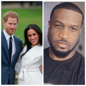 Most Nigerian Men Always Stand Up For Their Wives Just Like Prince Harry, They Should Be Celebrated