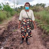 Reactions As Principal in Narok Walks Over 300Km To Deliver KCSE Exams To Her Students