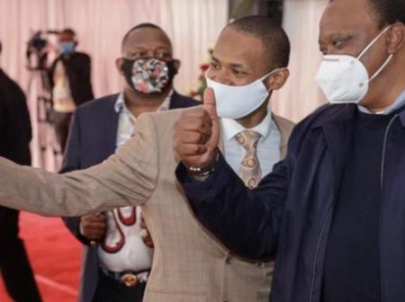 See What President Uhuru Kenyatta Has Said About Babu Owino Today In Kayole