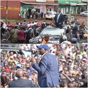 Fresh Details Emerge Why Uhuru Addressed a Handful of Nyeri People as DP Ruto Rocked in Mumias