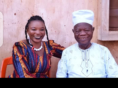 As Mike Ejeagha Is About To Clock 91, See What This Igbo Lady And Others Are Doing For Him