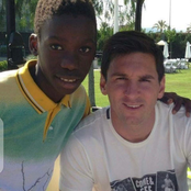Few Years After This Young Boy Pose With Messi In Photo, See What They Jointly Later Achieved